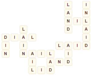 Wordscapes Field 7 level 5895 answers