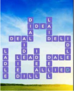 Wordscapes Field 8 Level 3128 answers