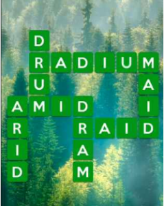 Wordscapes Fir 7 Level 2247 answers