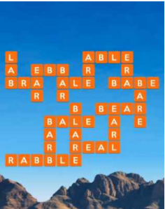 Wordscapes Flat 7 Level 1527 answers