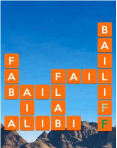 Wordscapes Flat 9 Level 1529 answers