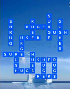 Wordscapes Float 16 Level 2480 answers