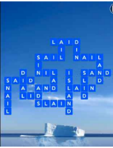 Wordscapes Float 7 Level 2471 answers