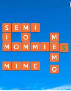 Wordscapes Flume 13 Level 4205 answers