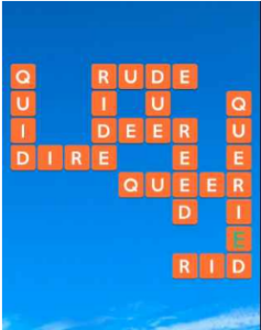Wordscapes Flume 9 Level 4201 answers
