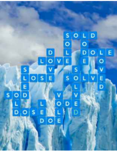 Wordscapes Freeze 5 Level 2821 answers