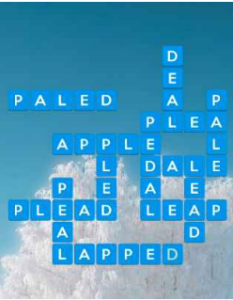 Wordscapes Frost 12 Level 2812 answers