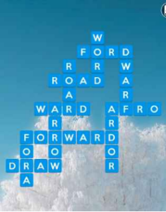 Wordscapes Frost 14 Level 2814 answers