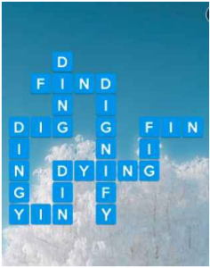 Wordscapes Frost 15 Level 2815 answers