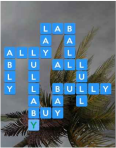 Wordscapes Gale 10 Level 4058 answers
