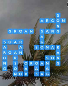 Wordscapes Gale 12 Level 4060 answers