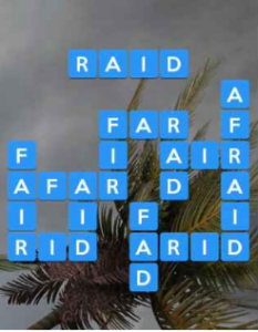 Wordscapes Gale 9 Level 4057 answers