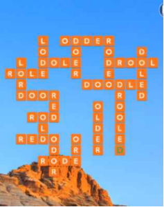Wordscapes Geode 16 Level 4512 Answers