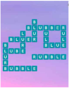 Wordscapes Gift 6 Level 3750 answers