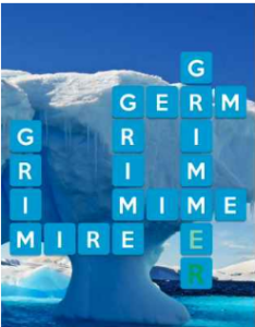Wordscapes Glacial 5 Level 4325 answers