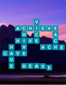Wordscapes Grace 6 Level 1030 answers