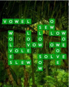 Wordscapes Green 14 Level 718 answers