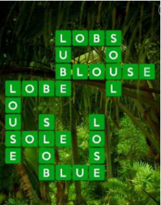 Wordscapes Green 3 Level 707 answers