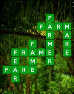 Wordscapes Green 7 Level 711 answers