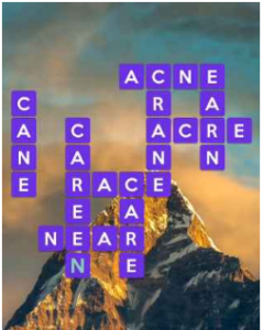 Wordscapes Height 5 Level 2757 answers