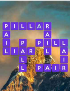 Wordscapes Height 9 Level 2761 answers