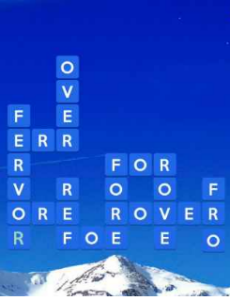 Wordscapes Icey 1 Level 1649 answers