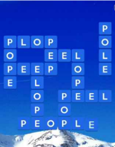 Wordscapes Icey 9 Level 1657 answers