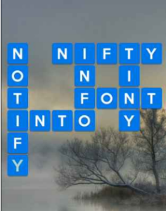 Wordscapes Lake 5 Level 1317 answers