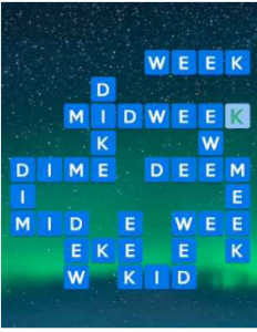 Wordscapes Light 5 Level 2837 answers