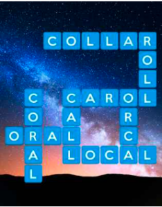 Wordscapes Light 5 Level 3445 answers