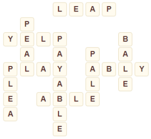 Wordscapes Marsh 2 Level 5202 answers