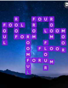 Wordscapes Moon 16 Level 4480 Answers