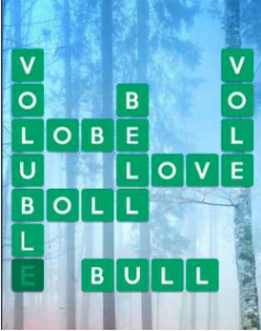 Wordscapes Mossy 12 Level 2300 answers