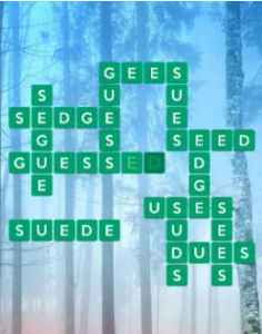 Wordscapes Mossy 16 Level 2304 answers