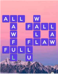 Wordscapes Opal 1 Level 3617 answers