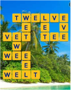 Wordscapes Palm 13 Level 2653 answers
