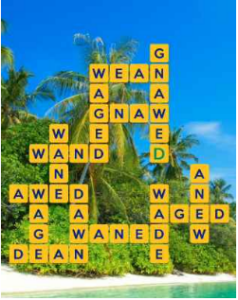 Wordscapes Palm 14 Level 2654 answers