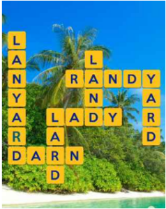 Wordscapes Palm 2 Level 2642 answers