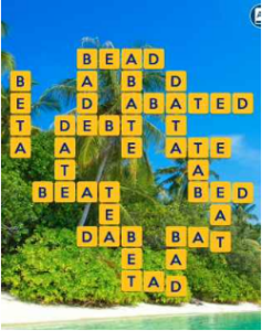 Wordscapes Palm 3 Level 2643 answers