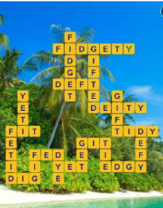 Wordscapes Palm 8 Level 2648 answers