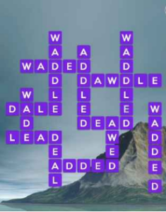 Wordscapes Peace 8 Level 2776 answers