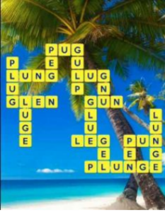 Wordscapes Pebble 5 Level 2069 answers
