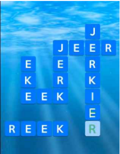 Wordscapes Ripple 11 Level 2411 answers