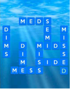 Wordscapes Ripple 8 Level 2408 answers
