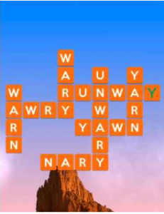 Wordscapes Rise 10 Level 2330 answers