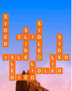 Wordscapes Rise 6 Level 2326 answers