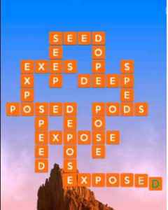 Wordscapes Rise 8 Level 2328 answers