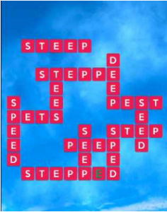 Wordscapes River 12 Level 2492 answers