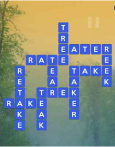 Wordscapes River 14 Level 1358 answers