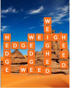 Wordscapes Sand 13 Level 2349 answers